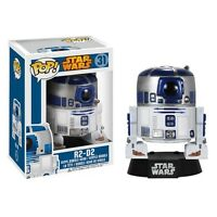 BADLY DAMAGED BOX STAR WARS R2-D2 VINYL BOBBLE HEAD FIGURE POP FUNKO