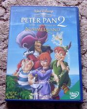 Walt Disney Peter Pan  2 Neue Abenteuer im Nimmerland  DVD    sehr guter Zustand