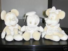 Disney Plushes White, Large Mickey, Minnie, and Donald!