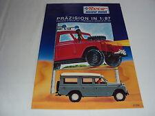 W/2/13/3 Modell Modellauto Katalog Prospekt Roco Miniatur Modell PKW LKW 90er Ja