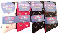 LADIES NON ELASTIC SOCKS WOMENS DIABETIC SOFT TOP SOCKS UK SHOE SIZE 4-7