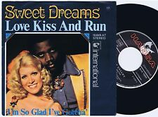 SWEET DREAMS Love Kiss And Run German 45PS 1976 eurovision