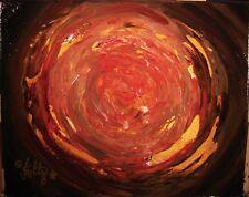 Modernist Abstract EXPRESSIONIST Painting MODERN Art VORTEX FIRENATO FOLTZ