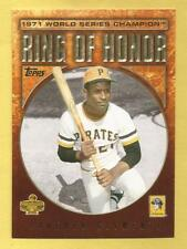 ROBERTO CLEMENTE 2009 Topps Ring Of Honor #RH26 Pirates (1971 World Series)