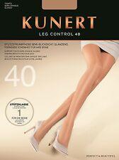 """Kunert """"Leg Control 40"""" Stützstrumpfhose glänzend (ideal für den Tanzsport)"""