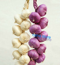 2 artificial string garlic faux fruit fake food house kitchen party office decor