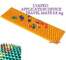 LYAPKO APPLICATION DEVICE TRAVEL MATE 5.8 Ag. 59 x 235 mm. Acupuncture massager
