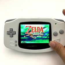 White 10 Levels Brightness Backlit V2 IPS LCD System GameBoy Advance GBA Console