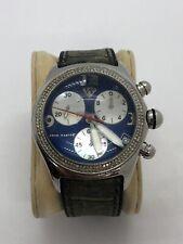 AQUAMASTER Professional Chronograph Bubble Watch W/ Natural Diamonds