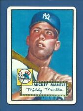 1952 Topps R&N China Mickey Mantle RC Limited Edition Porcelain Reprint NM/MT