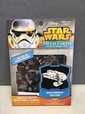 (S) Disney Star Wars Metal Earth Millennium Falcon 3D Metal Model Kit NEW
