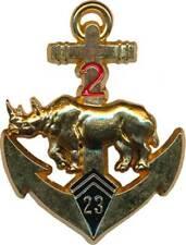 23° B.I.M.a, 2° Escadron, rhinocéros doré, tirage 2004, Y.Boussemart (5288)