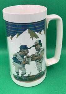 Wrigley Field   Busch Beer 1986 Chicago Cubs & White Sox Crosstown Classic Mug