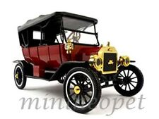 MOTOR CITY CLASSICS 88133 1917 FORD MODEL T SOFT TOP 1/18 DIECAST MODEL CAR RED