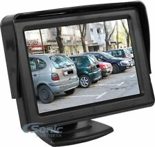 "Crimestopper Sv-8151.Hd Ultra-Slim Rearview Camera Monitor w/ 4.3"" Screen"