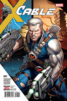 CABLE #1 DALE KEOWN MARVEL COMICS X-MEN