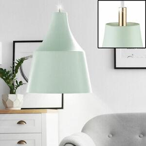 Design Bouteilles Lustre ESS Chambre de cuisine Plafonnier Pendule verre éclairage vert
