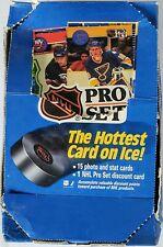 1990-91 NHL PRO SET Hockey Series 1 - 30 Pack Opened Box - 15 card Wayne Gretzky