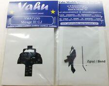 Yahu Modelos YMA7250 1/72 PE Dassault Mirage Iiicj Panel de Instrumentos