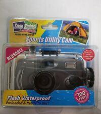 [NIB] Snap Sights! WATERPROOF Sports Utility Camera w/FLASH(Flash NIB very rare)