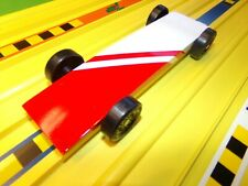 Fast pinewood derby cars ready to race