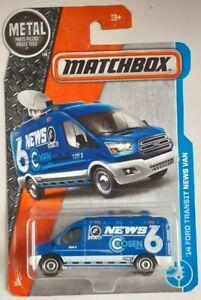 Matchbox - Ford Transit 2014 - TV News Van - NEW