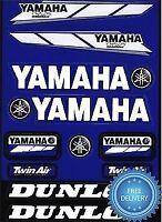 4MX Sticker Decal Yamaha Logo Twin Air Dunlop fits DT 125 R / RE 98-05