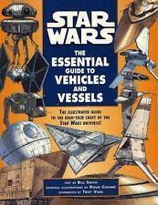 STAR WARS THE ESSENTIAL GUIDE TO VEHICLES & VESSELS VGC! Game #39299 Ballantine