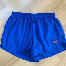 Reebok Men's Blue Lightweight Sprinter Runner Retro Vintage Shorts Polyester S