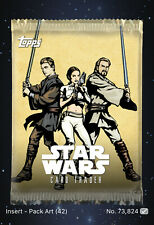 Topps Star Wars Card Trader Digital Pack Art - Tier A - AOTC Card Art (42cc)