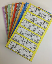 More details for 6000 bingo flyers, 10 pads of 600 tickets 6 to view, like jumbo 1-90 low price!!