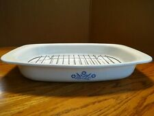 Corning Ware Oval Roaster P-21 with Rack Casserole