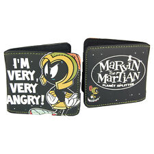 Looney Tunes Marvin The Martian Wallet. Cartoon Coin Cash Retro Cool Funky Gift