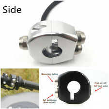 High Quality CNC 3 Push-button Control Switch for 22-23mm Motorcycle Handlebars