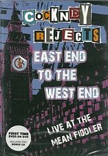 COCKNEY REJECTS East End To The West End DVD+CD Punk KBD Oi! SKINHEAD New/SEALED
