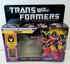 Transformers G1 Vintage AFA FANGRY MISB tape sealed Headmasters MIB MOSC MOC