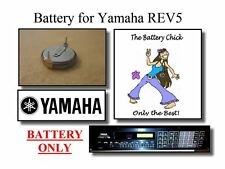 Battery for Yamaha REV5 Digital Reverb - Internal Memory Replacement Battery