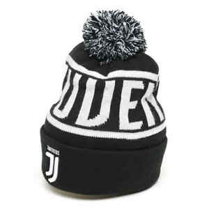 """Juventus FC """"Juventus"""" cuffed beanie hat with pom"""