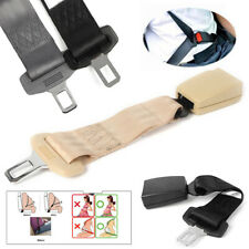 14'' Car Seat Seatbelt Extender High Strength Auto Extension Buckle Clip Grey