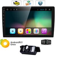 "10.1"" 1080P 2 Din Car Dash Stereo Player GPS Radio Bluetooth Wifi 4G Andriod 8.1"
