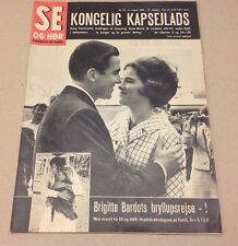 GREEK QUEEN ANNE-MARIE KING CONSTANTINE BRIGITTE BARDOT in Danish Magazine 1966