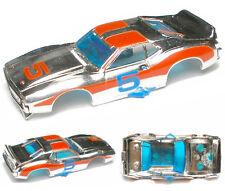 1974-79 Aurora AFX Javelin Trans AM Chrome Slot Car body