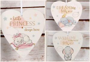 Disney Nursery Hanging Plaque Marie Dumbo bambi