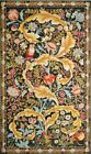 Textile Picture Tapestry Gobelin Panels Owl William Morris without Frame
