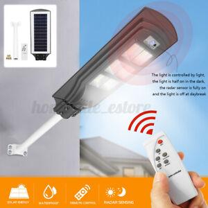 Solar LED Light Street Floodlight PIR Motion Sensor Outdoor Wall Lamp Garden #✔