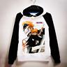 Anime Bleach Hoodie Kurosaki Ichigo Pullover Sweatshirt Cosplay Coat Sweater