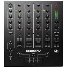 Numark M6 USB 4-Channel Pro DJ USB Mixer M6USB ,Black