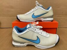 NEW MENS FEDERER NIKE AIR ZOOM VAPOUR VI TOUR TENNIS TRAINER W/TAG IN BOX-UK 9.5