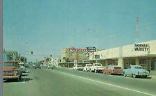 Wilcox,Arizona.Street Scene,Chevron Gas,Cafe,Vintage Cars,Cochise Co.c.1950s