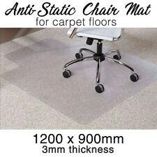 Office Chair Mat -carpet- Computer Safe Anti-static 1200mm X 900mm X 3mm